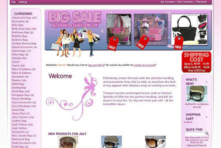 Sprinkle of Gifts Website